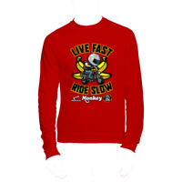 HONDA MONKEY RIDE SLOW LONG SLEEVE Thumbnail